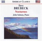 DAVE BRUBECK Nocturnes [John Salmon] album cover